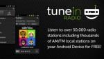 Tunein radio recenzija android