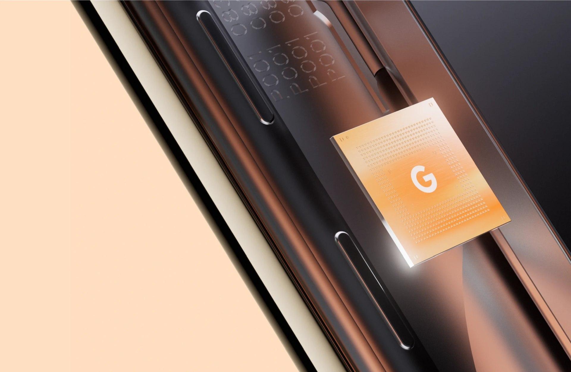 Google Novosti Tensor čip